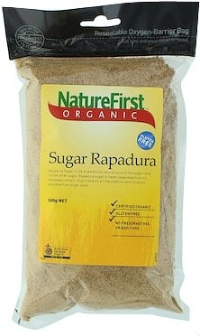 Nature First Sugar Rapadura Organic 500g