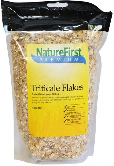 Nature First Triticale Flakes Rolled 400g