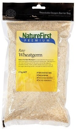 Nature First Wheat Germ Raw 375g