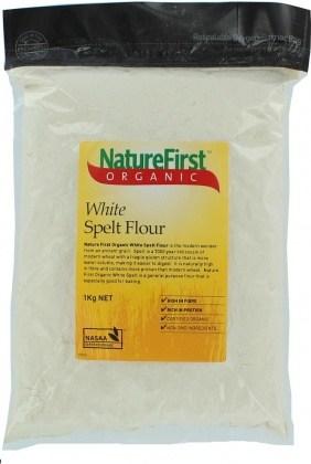 Nature First White Spelt Flour 1kg
