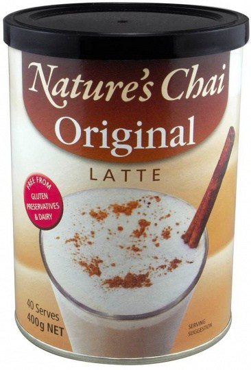 Nature's Chai Original Latte G/F 400g NOV21