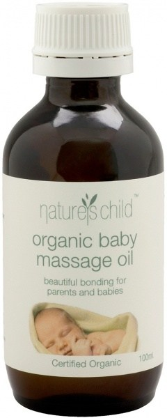Natures Child Organic Baby Massage Oil 100ml