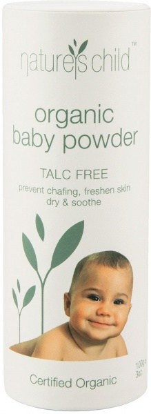 Natures Child Organic Baby Powder 100g