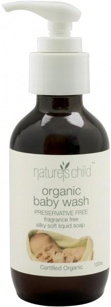 Natures Child Organic Baby Wash 100ml