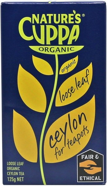 Natures Cuppa Loose Leaf Ceylon Tea 125gm