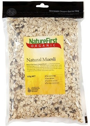 Natures First Muesli Natural 500g