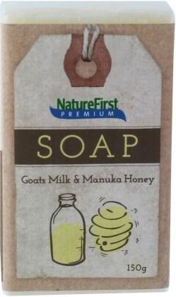 Natures First Premium Soap Goats Milk & Manuka Honey 150g