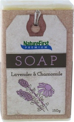 Natures First Premium Soap Lavender & Chamomile 150g