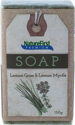 Natures First Premium Soap Lemon Grass & Lemon Myrtle 150g