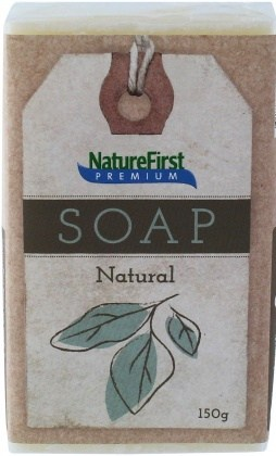 Natures First Premium Soap Natural 150g