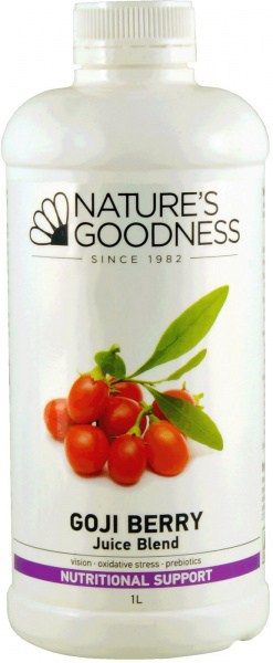 Natures Goodness Goji Berry Juice Blend 1L
