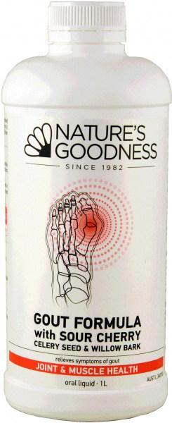 Natures Goodness Gout Formula 1L