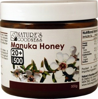 Natures Goodness Manuka Honey 20+ 500g DEC19