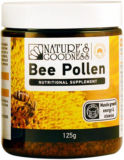 Natures Goodness Pollen Granules 125g