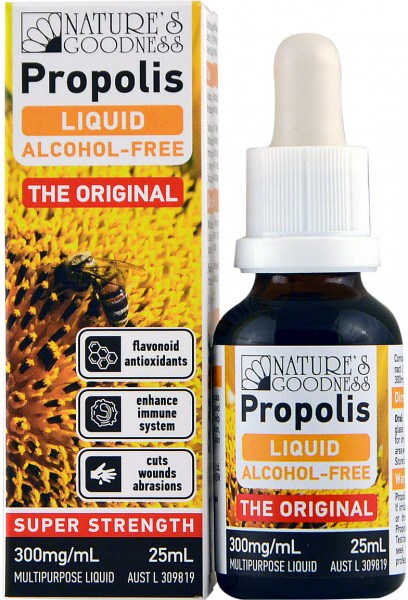 Natures Goodness Prop Alcohol Free Liquid 25ml 30%