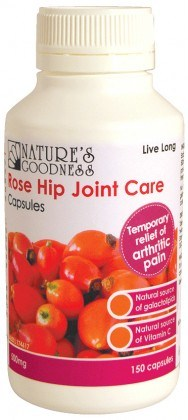 Natures Goodness Rose Hip Joint Care 150caps