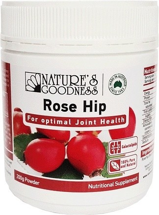 Natures Goodness Rose Hip Powder 200g