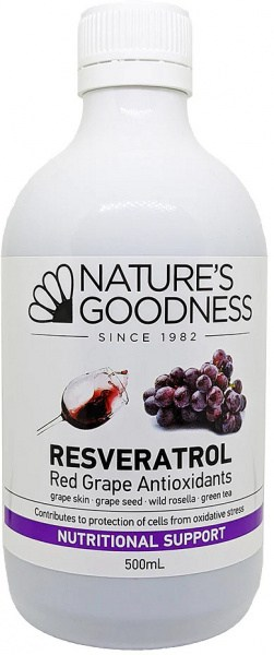 Natures Goodness T- Resveratrol Juice 500ml
