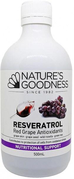 Natures Goodness T- Resveratrol Juice 500ml