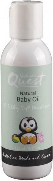 Nature's Quest Baby Massage Oil 125ml JAN21