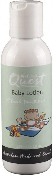 Nature's Quest Baby Moisturising Lotion 125ml MAR20