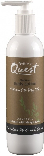 Nature's Quest Body Lotion 250ml