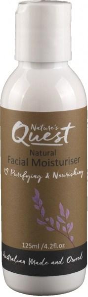 Nature's Quest Face Moisturiser 125ml