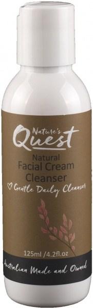 Nature's Quest Facial Cream Cleanser 125ml