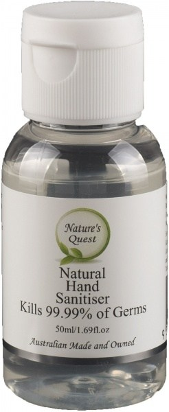 Nature's Quest Hand Sanitiser 50ml