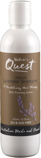 Nature's Quest Lavender Shampoo 250ml