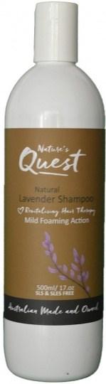 Nature's Quest Lavender Shampoo 500ml