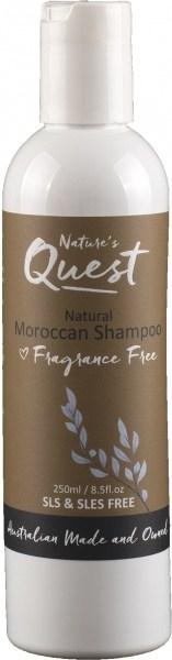 Nature's Quest Moroccan Shampoo 250ml