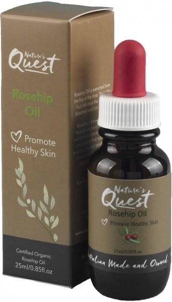 Nature's Quest Rosehip Oil 25ml