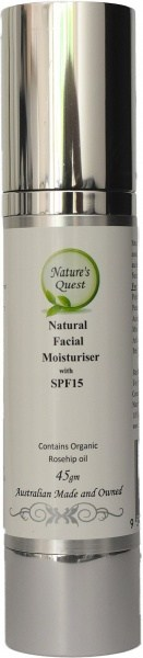 Nature's Quest SPF 15 Moisturiser 45ml
