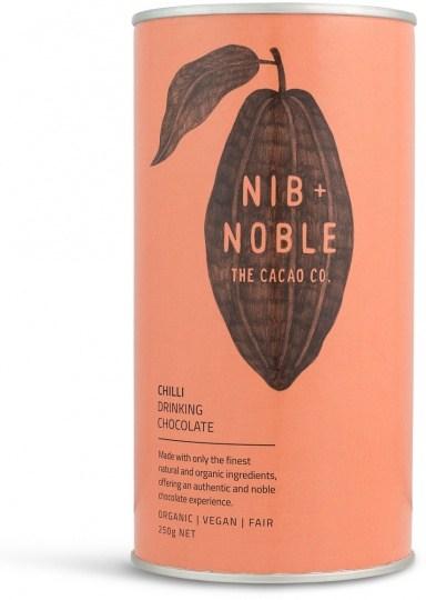 Nib & Noble Organic Drinking Chocolate Chilli 250g