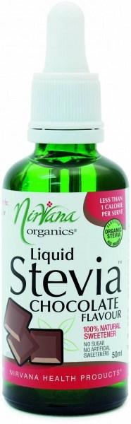 Nirvana Organics Chocolate Flavour Stevia Liquid 50ml