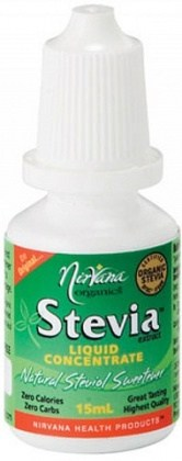Nirvana Organics Stevia Liquid Concentrate 15ml