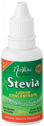 Nirvana Organics Stevia Liquid Concentrate 30ml