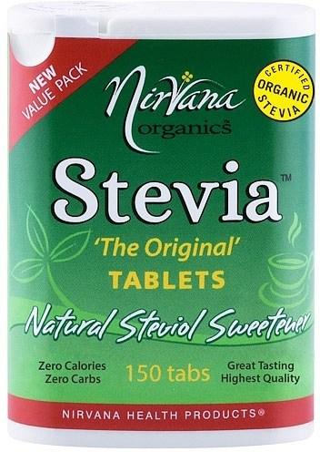 Nirvana Organics Stevia 'The Original' Tablets 150Tabs