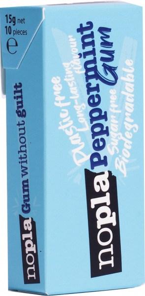 Nopla Peppermint Plastic Free Gum  12x15g