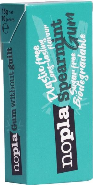 Nopla Spearmint Plastic Free Gum  12x15g