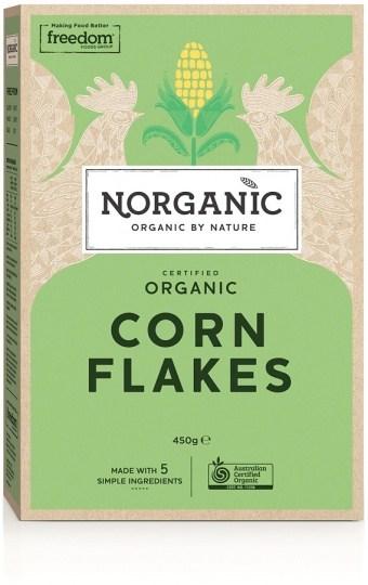 Norganic Certified Organic Corn Flakes  450g