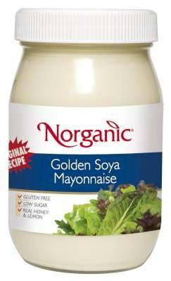 Norganic Golden Soya Mayo 475ml