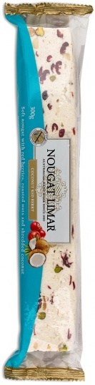 Nougat Limar Coconut Red Berry Soft Nougat 300g