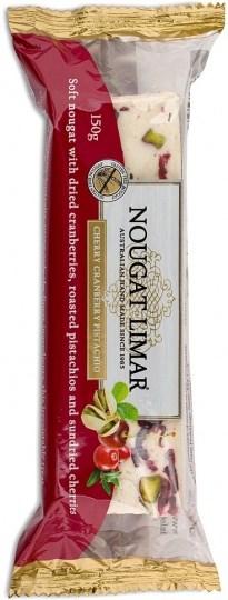 Nougat Limar  Cherry,Cranberry & Pistachio 150g