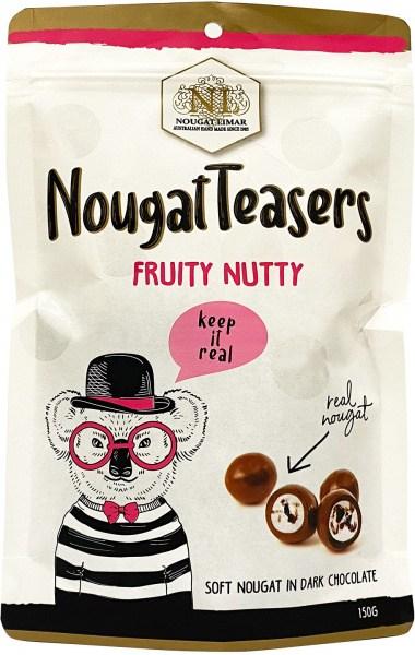 Nougat Limar  Fruity  Nutty Nougat Teasers 150g