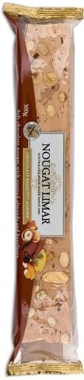 Nougat Limar  H/nut, Almnd & Choc 300g