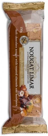 Nougat Limar  Hazelnut, Almond & Chocolate 150g