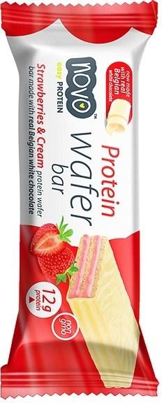 Novo Protein Wafer Bar Strawberry Cream 40g