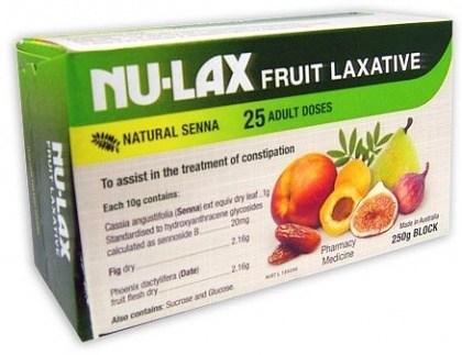 Nulax Fruit laxative 250gm